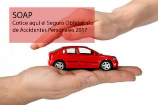 SOAP: Convenios de Seguros Obligatorios de Accidentes Personales 2017